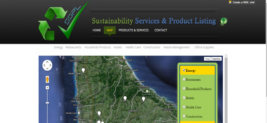 Sustainability Services and Products Listing